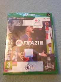 FIFA 21 XBOX 1 + XBOX SERIES X