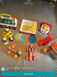 LOT OF BRAND NAME QUALITY BABY TOYS $20 FIRM