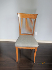 Solid Oak Dining Chairs 8 0f them @ $70.00 each