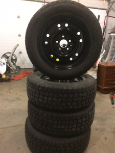 2006 Ford Fusion snow tires