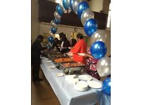 Catering/Hall decorating services for all events