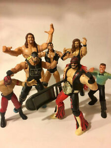 WWF / WWE / WCW Wrestling Collectables