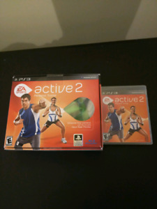 PS3 game - Active 2 personal trainer