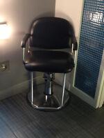 Chaise de coiffure hydrolique