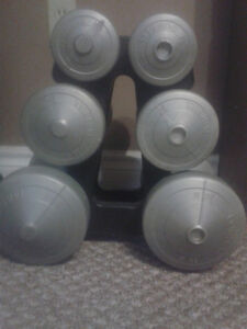 Bar Bells with stand