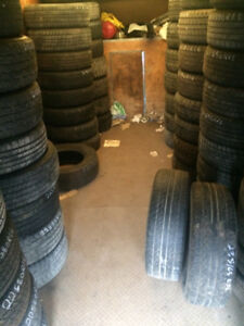 TIRES...... GOOD USED ALL SEASON TIRES....