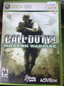 Call of duty4 modern warfar xbox360