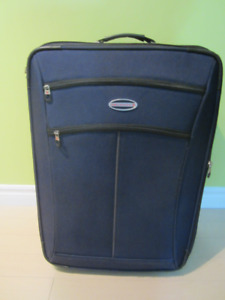 "AIR Canada Suitcase Luggage Size 17"" X 9"" X 25"" $40."