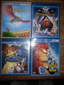 Disney and Pixar Blu-Rays - LEGO Blu-Ray - Lohan DVD - and more