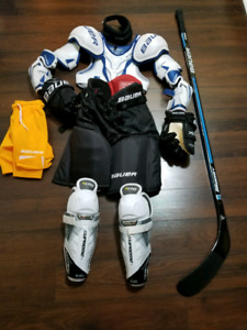 New Bauer youth equipment-PRICE IS NEGOTIABLE