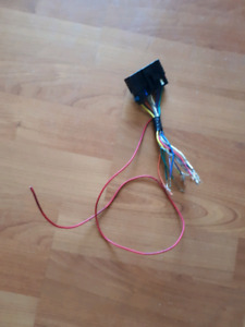 Stereo wire harness cobalt g5