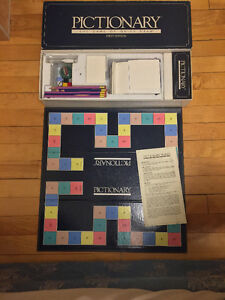 Pictionary Game First Edition 1985