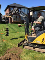 PROFESSIONAL POST DIGGING AND SETTING
