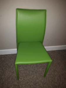 Lime Green Chair - Like New Condition