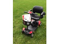 Pride go go elite traveller boot scooter in excellent condition