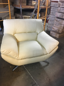 Full grain leather chairs for sale