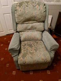 Rise an recline armchair