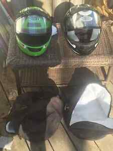 Snowmobile and atv helmets for sale