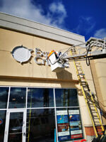 Sign Repairs - Installation & Removals - Sign Service