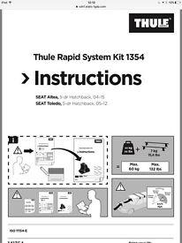 Thule rapid system kit 1354