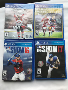 PS4 Video Games - Sports