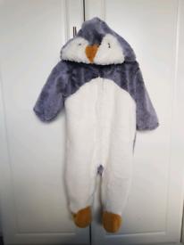 'Next' penguin snowsuit