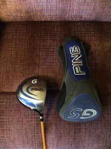 PING G5 DRIVER WITH HEADCOVER