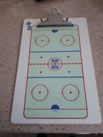 2 tableau pour entraineur de hockey 20$