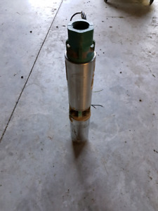 Submersible Well Pump