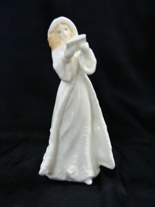 Royal Doulton 'Christmas Carols' Figurine Peterborough Peterborough Area image 1