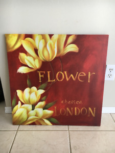 Beautiful canvas print from Pier 1
