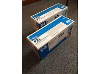 Two HP 92A printer cartridges