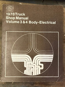 1979 Ford Truck shop manual