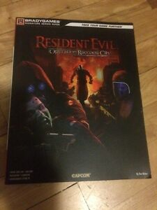 Resident Evil operation racoon city guide BOOK livre NEUF new