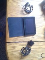 Blackberry playbook Tablet and micro USB HDMI cable
