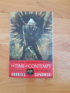 The Witcher: the Time of Contempt novel