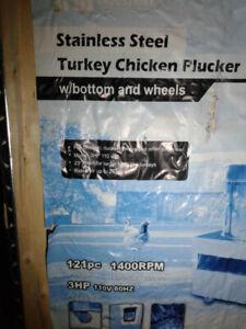Plucker(Turkey and Chicken)