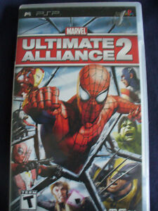 Jeu Marvel Ultimate Alliance 2 pour PSP
