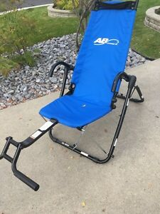 AB Lounge 2 exercise chair (Blue)