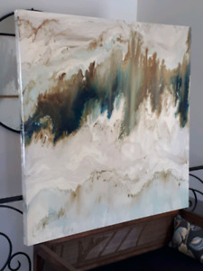 "Large stunning wall art, ""Mineral"" by Blakely Bering"