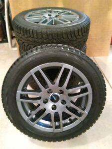 4 Nokian Nordman 5 Winter Tires plus 4 alloy wheel rims for sale