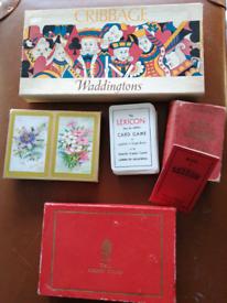 Vintage indoor games