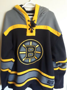 Old Time Hockey hoodie jersey Boston bruins Size large