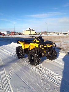 2012 Can Am Outlander 1000XT TRADE FOR SLED
