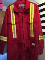 RASCO FIRE RESISTANT COVERALL WITH REFLECTIVE TRIM