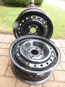 Two (2) Tire Rims - JG009 - Great Shape Off Ford Focus
