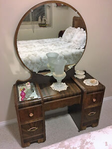 Art Deco, Waterfall front, Antique, Vintage furniture