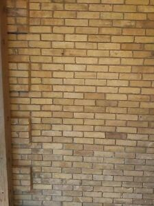 150 year old reclaimed clay brick