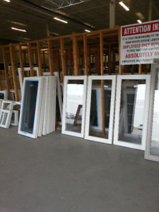 Newly Manufactured Stock Windows