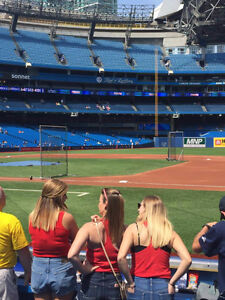 Jays vs Reds May 29-31 100 lvl premium seats at $30 under face